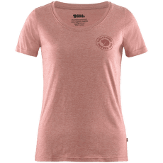 1960 Logo T-shirt Women Raspberry Red-Melange