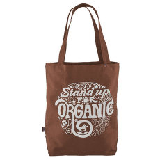 Market Tote Root Revolution Graphic: Earthworm Brown