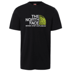 Rust 2 Tee S/S Men TNF BLACK/TNF WHITE