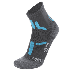 Trekking 2In Socks Women Anthracite/Turquoise