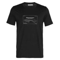 Tech Lite SS Crewe Queenstown Men Black