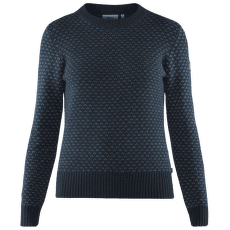 Övik Nordic Sweater Women Dark Navy