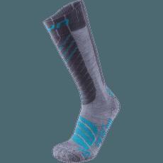 Ski Comfort Fit Women Grey/Turquoise