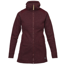 Övik Wool Jacket Women Dark Garnet