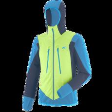 Extreme Rutor Alpha Compo Hoodie Men ACID GREEN/TEAL BLUE