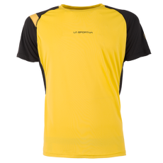 Motion T-Shirt Men Yellow/Black