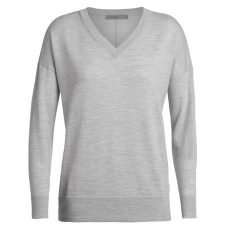 Shearer V Sweater Women STEEL HTHR
