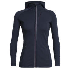 Quantum LS Zip Hood Women Midnight Navy