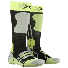 Ski Junior 4.0 ANTHRACITE MELANGE/GREEN LIME