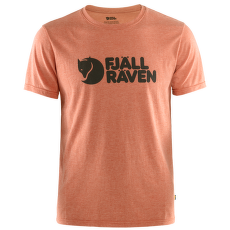 Fjällräven Logo T-shirt Men Rowan Red-Melange