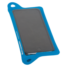 TPU Guide Waterproof Case for Large Smartphone Blue-BL