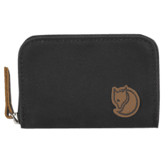 Zip Card Holder Dark Grey 030