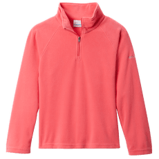 GLACIAL™ Fleece Half Zip Girls Bright Geranium