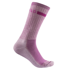 OUTDOOR MEDIUM SOCK Women 185 PINK