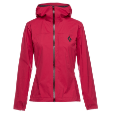 Fineline Stretch Rain Shell Women Pomegranate