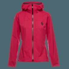 Fineline Stretch Rain Shell Women Pomegranate