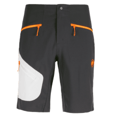 Sertig Shorts Men black-white-vibrant orange 00543