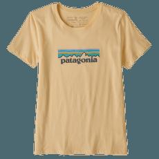 Pastel P-6 Logo Organic Crew T-Shirt Women Vela Peach