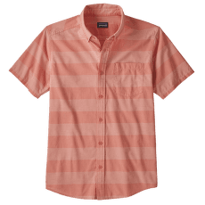 LW Bluffside Shirt Men Boll Stripe: Mellow Melon