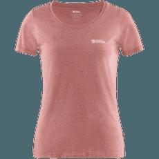 Fjällräven Logo T-shirt Women Raspberry Red-Melange