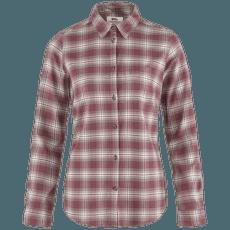 Övik Flannel Shirt Women Mesa Purple-Fog