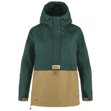 Vardag Anorak Women Arctic Green-Buckwheat Brown