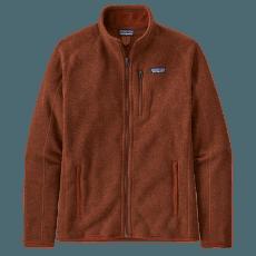 Better Sweater Jacket Men Barn Red
