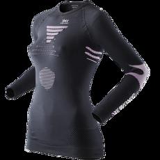 Ski Touring Evo Shirt V-Neck Women Black/Pink