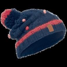Junior Knitted Polar Hat Buff (113531) DARK NAVY