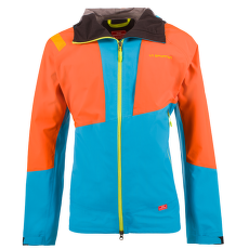 Mars Jacket Men Tropic Blue/Pumpkin