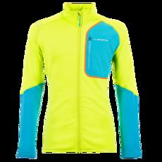Falkon Jacket Men Apple Green/Tropic Blue
