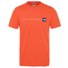 Never Stop Exploring Tee Men PAPAYA ORANGE