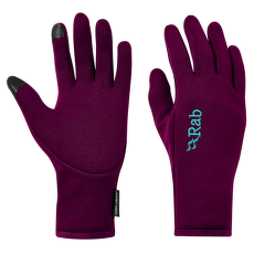 Power Stretch Contact Glove Women Berry