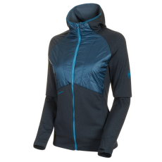 Aconcagua Light Hybrid ML Hooded Jacket Women wing teal 50227