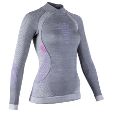 Fusyon UW Shirt LS Turtleneck Women Anthracite/Purple/Pink