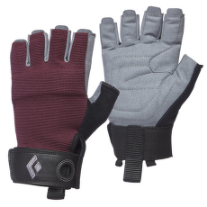 Crag Half-Finger Gloves Women Bordeaux