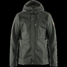 Kaipak Jacket Men Dark Grey-Black