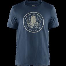Fikapaus T-shirt Men Navy
