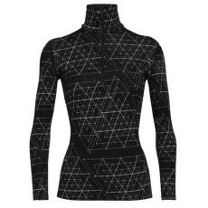 Vertex LS Half Zip Ice Structure Women 250 Black