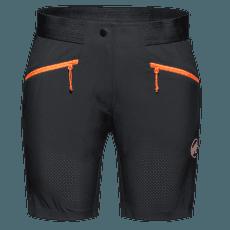 Sertig Shorts Women (1023-00200) black-vibrant orange