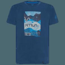 Patch T-Shirt Men Opal