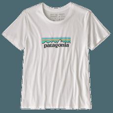 Pastel P-6 Logo Organic Crew T-Shirt Women White
