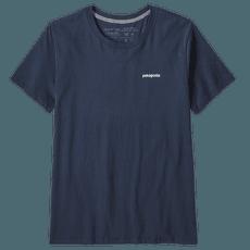 P-6 Logo Organic Crew T-Shirt Women Neo Navy