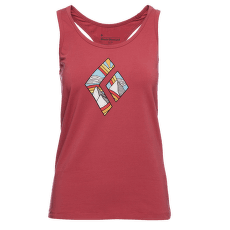 Rainbow Diamond Tank Women Wild Rose