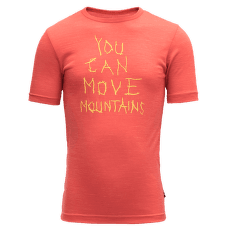 Moving Mountain Tee Kid Cayenne