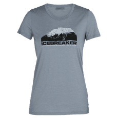 Tech Lite SS Low Crewe Icebreaker Mountain Women GRAVEL