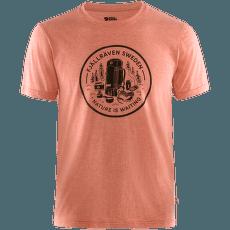 Fikapaus T-shirt Men Rowan Red-Melange