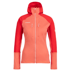 Eiswand Advanced ML Hooded Jacket Women barberry-azalea