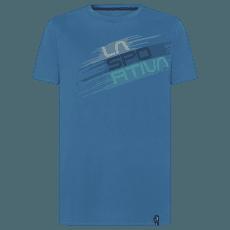 Stripe Evo T-Shirt Men Atlantic