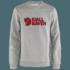 Fjällräven Logo Sweater Men Grey-Melange